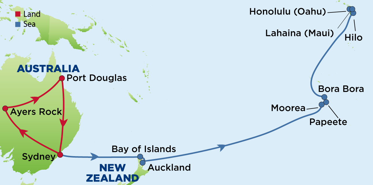 Journey to australia tahiti and hawaii enrichment journeys about this journey australias gumiabroncs Images