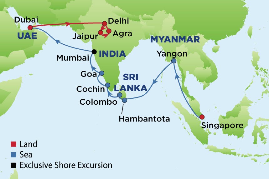 Journey to india dubai myanmar and sri lanka from the earliest times the journey of goods and trade in the ancient world became the routes by which man explored his environment and shared his culture gumiabroncs Image collections